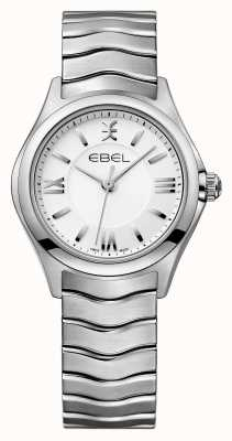 EBEL ウェーブレディースステンレススチール腕時計 1216374