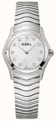 EBEL クラシックレディースダイヤモンドステンレススチール時計 1215421