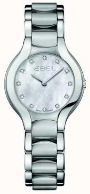 EBEL レディースベルガダイヤモンドステンレススチールセット 1216038