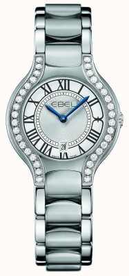 EBEL レディースベルガダイヤモンドステンレススチールセット 1216069
