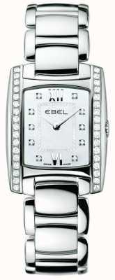 EBEL レディースブラジルダイヤモンドステンレス 1215607