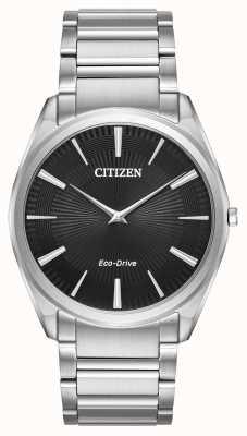 Citizen メンズエコドライブスティレット超薄型ステンレススチール AR3070-55E