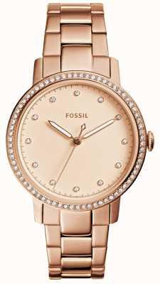 Fossil レディースネイリーローズゴールドウォッチ ES4288