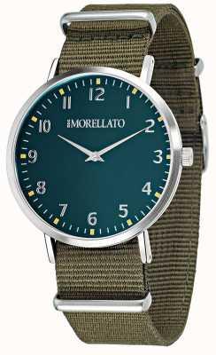 Morellato Mens vela green dial /ストラップウォッチ R0151134004