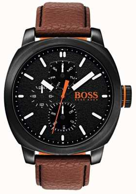 Hugo Boss Orange メンズcapetown腕時計ブラックダイヤル 1550028