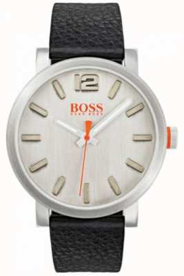 Hugo Boss Orange メンズビルバオシルバーウォッチ 1550035