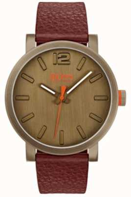 Hugo Boss Orange メンズビルバオ時計(ブラウン) 1550036