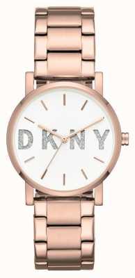 DKNY ソーホーローズゴールドトーンブレスレット NY2654
