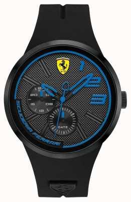 Scuderia Ferrari メンズブラックシリコン 0830395