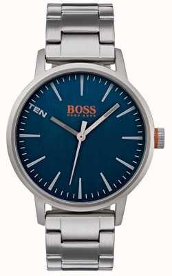 Hugo Boss Orange メンズコペンハーゲン腕時計ブルーダイヤル 1550058