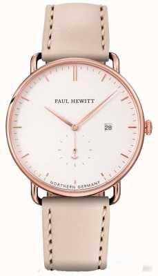 Paul Hewitt 女性はグランドアトランティックローズゴールドステンレススチールケース PH-TGA-R-W-22S