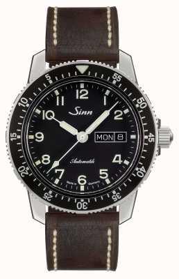 Sinn 104クラシックパイロットウォッチダークブラウンヴィンテージレザー 104.011 BROWN VINTAGE LEATHER
