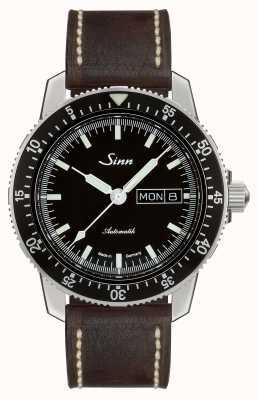 Sinn 104クラシックパイロットウォッチダークブラウンヴィンテージレザー 104.010 BROWN VINTAGE LEATHER
