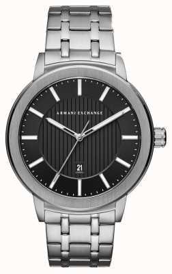 Armani Exchange メンズステンレススチール腕時計 AX1455