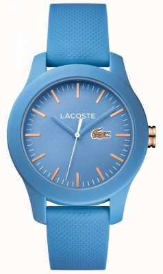 Lacoste 女子12.12青い時計 2001004