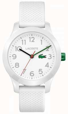 Lacoste キッズ12.12時計ホワイト 2030003