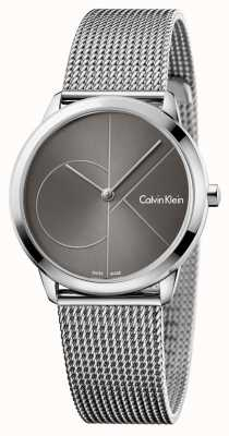 Calvin Klein レディースウォッチグレーダイヤル K3M22123