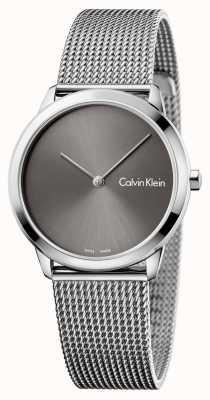 Calvin Klein レディースウォッチグレーダイヤル K3M221Y3