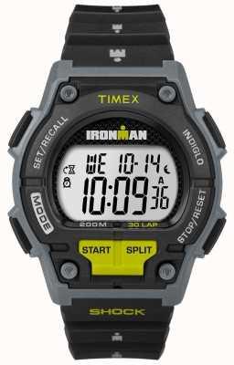 Timex メンズショック30 lp黒と石灰 TW5M13800D7PF