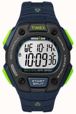 Timex アイアンマンクラシック30 fs黒と石灰 TW5M11600D7PF