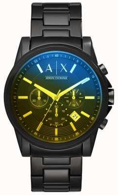Armani Exchange メンズアウターバンクスステンレススチールブレスレット AX2513