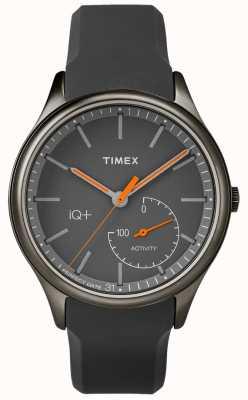 Timex メンズiqプラス移動グレーシリコンストラップ TW2P95000