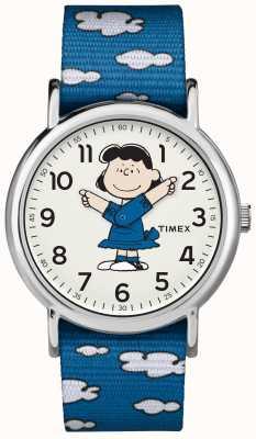 Timex ブルーストラップルイシーウォッチ TW2R413006B