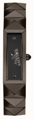 Jean Paul Gaultier レディースミニパンク銃メタルブレスレットブラックダイヤル JP8504003