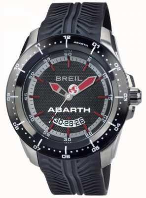 Breil AbarthステンレススチールIPブラック&レッドインデックスダイヤル TW1486