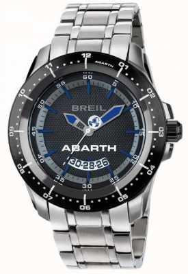 Breil AbarthステンレススチールIPブラック&ブルーダイヤル TW1487