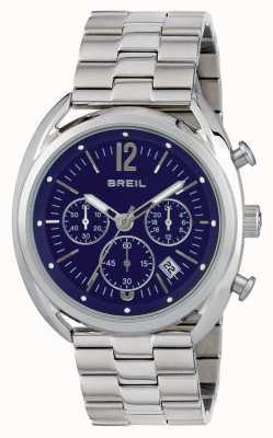 Breil ボーブールステンレススチールクロノグラフブルーダイヤル TW1665