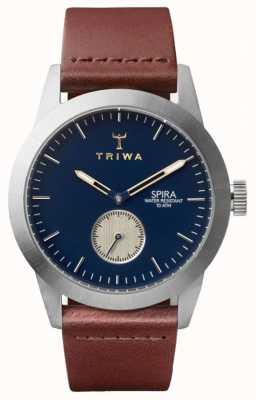 Triwa デューク・スピラ・ブラウン・クラシック・シルバー SPST104-CL010212