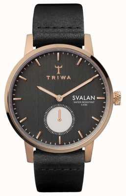 Triwa ノワールスバルンブラッククラシックスーパースリム SVST101-SS010114