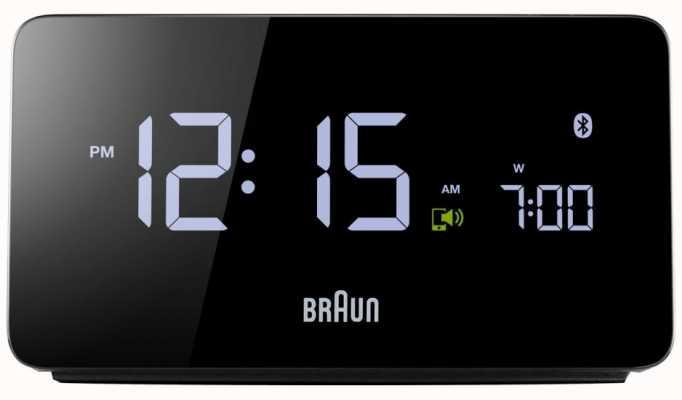 Braun デジタルBluetoothアラームクロック BNC020BK