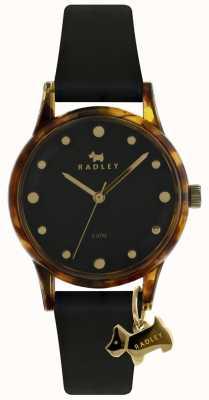 Radley レディースブラック33mmケースブラック犬の魅力 RY2640
