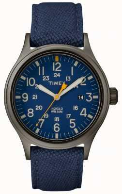 Timex アライド40ブルーのナイロンストラップ/ブルーダイヤル TW2R46200