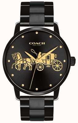 Coach レディースグランドブラックケース&ブレスレット 14502925