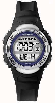Timex マラソンブラックラバーウォッチ TW5M14300