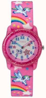 Timex ユースアナログユニコーンウォッチ TW7C255004E