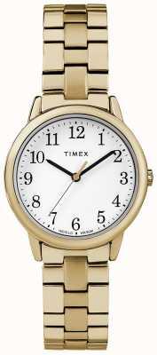 Timex 女性31ミリメートル遠征バンドステンレス鋼のブレスレット TW2R58900