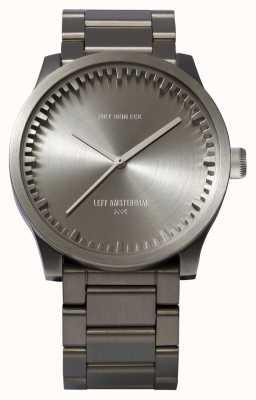 Leff Amsterdam チューブ腕時計s38スチールケーススチールブレスレット LT71101