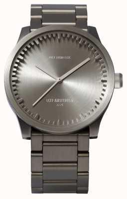 Leff Amsterdam チューブ腕時計s42スチールケーススチールブレスレット LT72101