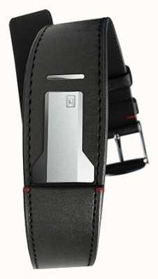 Klokers Klink 01サテンブラックストラップ、幅22mm、長さ230mm KLINK-01-MC1