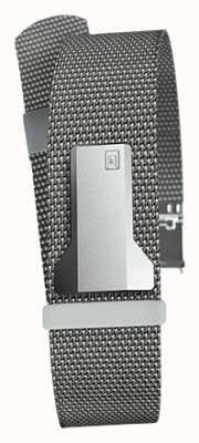 Klokers Klink 05スチールグレーミラノストラップ20mm幅230mm KLINK-05-MC1