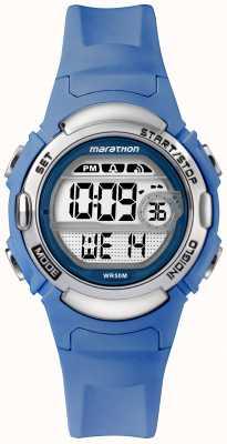 Timex マラソンデジタルスポーツウォッチライトブルーストラップ TW5M14400