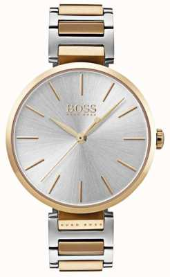 Hugo Boss レディースアロージョン2トーンスチール時計 1502417