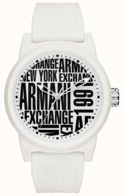 Armani Exchange Mens atlcシリコンストラップ AX1442