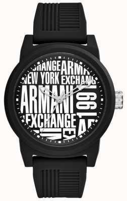 Armani Exchange Mens atlcシリコンストラップ AX1443
