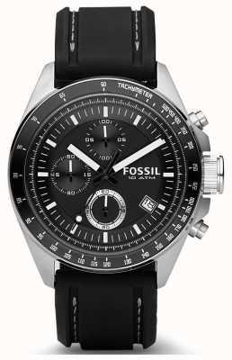 Fossil メンズデッカーシリコンストラップ CH2573IE