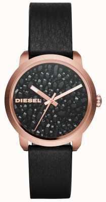 Diesel レディースフレアレザーストラップ DZ5520